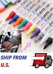 TOYO Waterproof Permanent Paint Marker Pen Car Tyre Tire Tread Rubber Metal