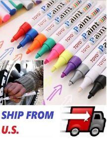 TOYO-Waterproof-Permanent-Paint-Marker-Pen-Car-Tyre-Tire-Tread-Rubber-Metal