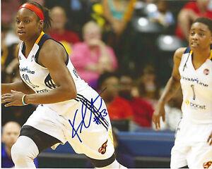 KARIMA CHRISTMAS Signed 8 x 10 Photo TULSA SHOCK WNBA Basketball ...