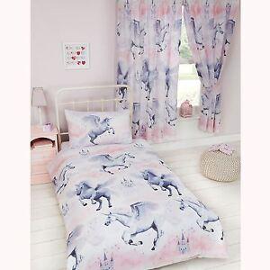 Das Bild Wird Geladen Sternenstaub Einhorn Junior Kinderbett Bett Bettdecke Bezug Set