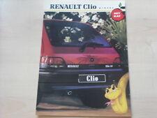 52422) Renault Clio A Diesel Prospekt 03/1991