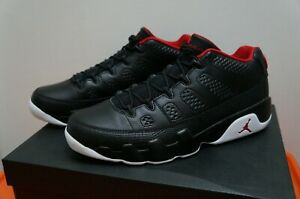 3ef303a27be5 Air Jordan 9 Retro Low BRED Black Red Mens Size SZ 10.5 832822-001 ...