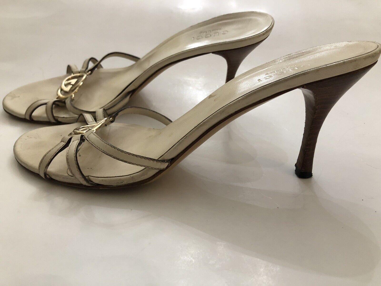 Gucci Off White Women Shoe 8B  - image 4