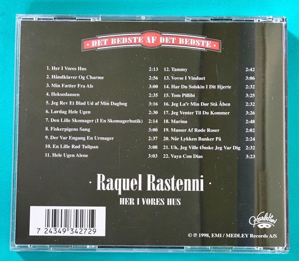 Raquel Rastenni: Det bedste af det bedste, pop