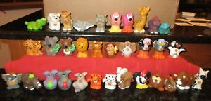 Fisher Price Little People ABC Alphabet Replacement Zoo Animals You Choose