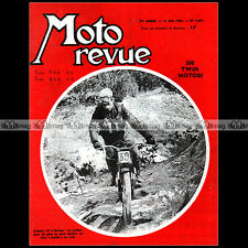 MOTO REVUE N°1641-c JOUBERT KREIDLER MOTOBI 500 MALTRY CROSS VESPA GT 125 1963
