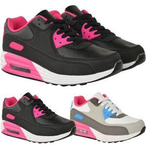 the latest 6fac2 d979a Mujer-senoras-Boost-Blanco-Zapatillas-Sneakers-Gimnasia-Deportes-