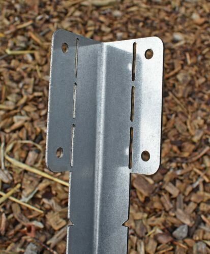 Corner Adjustable Galvanised Light Duty Decking Edging Bracket Small Straight