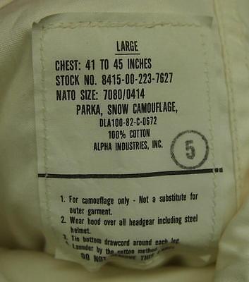 Snow Suits-US M65 Pattern
