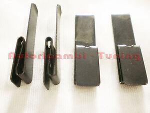 4 Mollette Lunghe Fissaggio Pannelli Posteriori FIAT 500 N D GIARDINIERA
