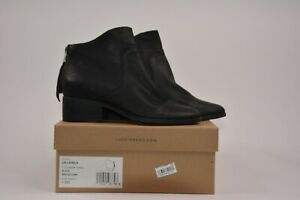 500081390c2 Details about Lucky Brand Women's LK- Lahela Black Ankle Boots, Leather 5.5  M