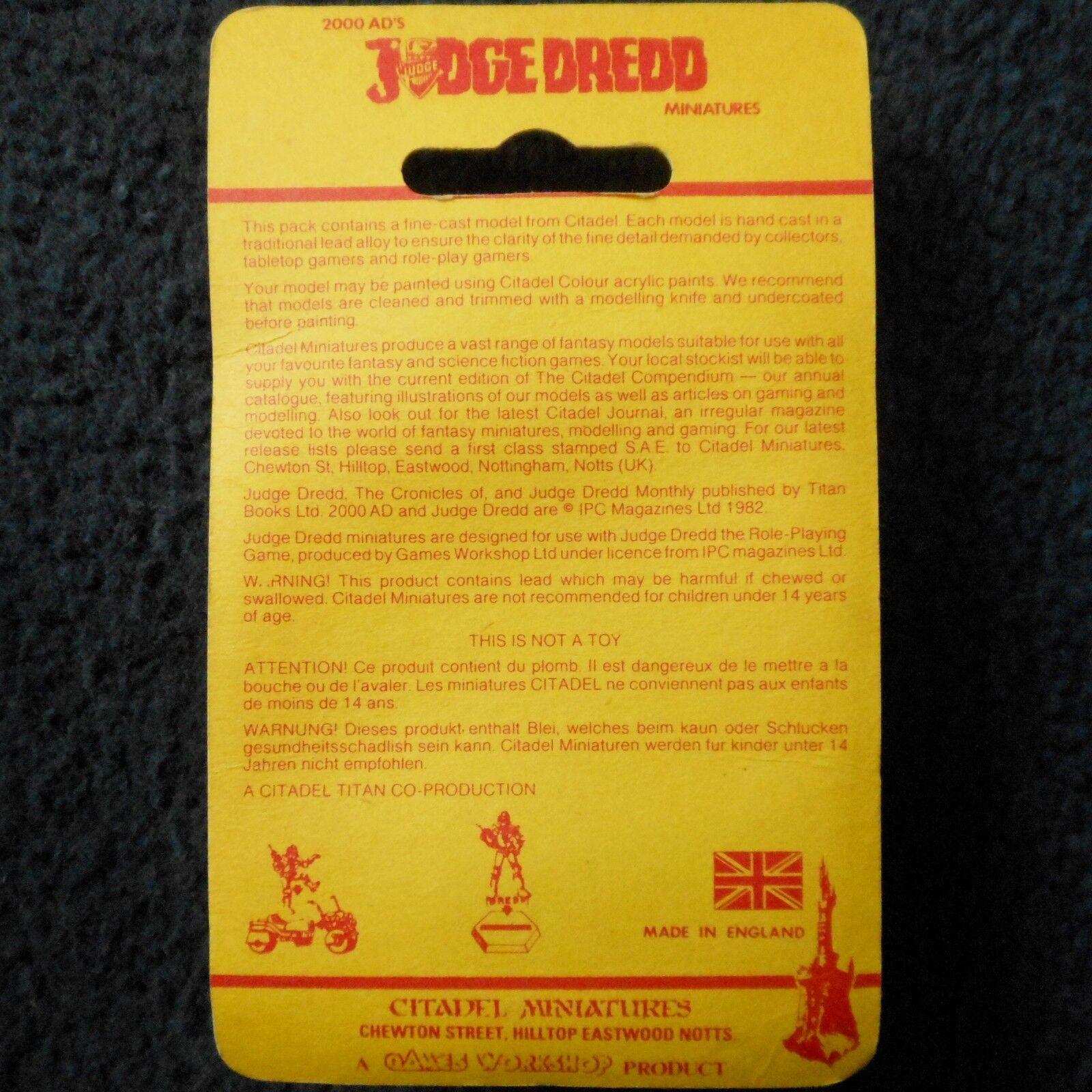 1985 GIUDICE DrossoD jd2 PSI Giudice Giudice Giudice eerson su... (23) giocos lavoronegozio GW Nuovo di zecca con scatola fd7b96