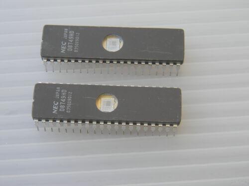 lot de 2 D8749HD NEC haute vitesse 8 bits Single Chip HMO micro ordinateur D8749