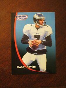 Bobby Hoying 1998 Kenner Starting Lineup Card - Philadelphia Eagles