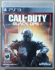 CALL OF DUTY BLACK OPS III 3 PS3 GAME (PRE OWNED) (USED) Excellent Condition