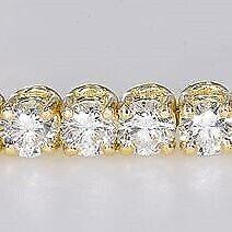 Armbånd, diamant, Tennisarmbånd 5.50 carat