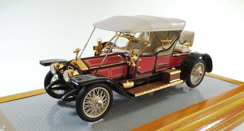 más orden Rolls-Royce 1910 plata plata plata Ghost-llamado Globo coche por Ilario 1 43  venta al por mayor barato