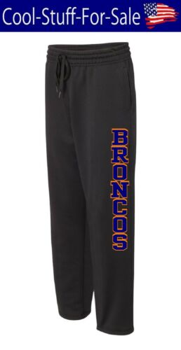 Denver Broncos Football Unisex Performance Sweatpants with Pockets