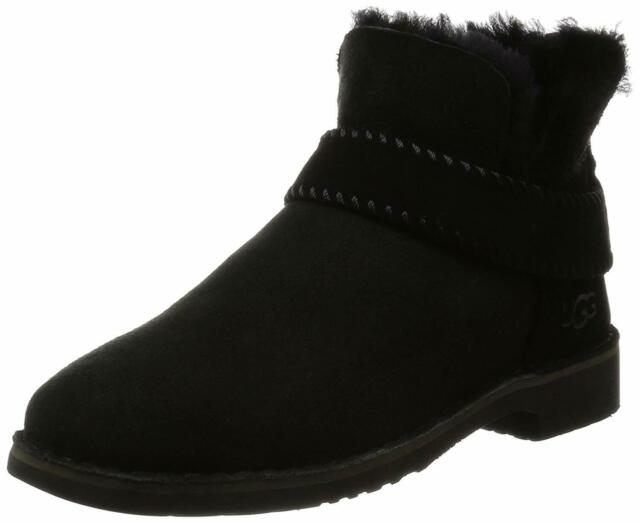 Ugg Australia Womens McKay Closed Toe Ankle Cold Weather Boots, Black, Size 10.5