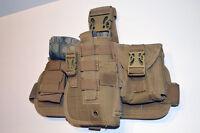 Tactical Drop Leg Thigh Gun Pistol Holster Color Glock H&k S&w (tan Desert)