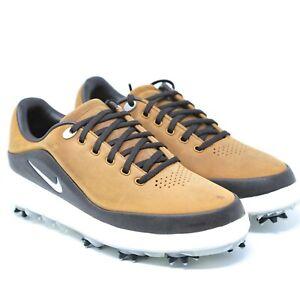 Nike-Air-Zoom-Precision-Golf-Shoes-Spikes-British-Tan-Brown-866065-200-sz-7-5