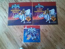 3 McDonald's Happy Meal 1995 TRANSLITES/Signs MIGHTY MORPHIN POWER RANGERS Movie