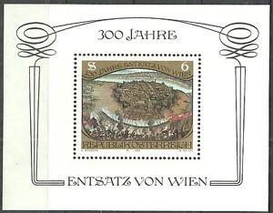 Osterreich-300-Jahre-Sieg-ueber-die-Tuerken-postfrisch-1983-Block-6-Mi-1750