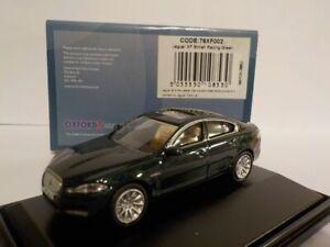 Model-Car-Jaguar-XF-Racing-Green-1-76-New-Oxford-76XF002