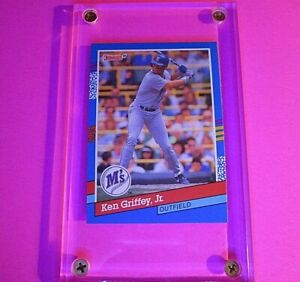 Ken Griffey Jr. 1991 Donruss #77 (ERROR CARD) Seattle Mariners MINT