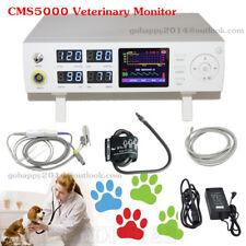 Contec Cms5000vet Veterinary Monitor Spo2 Nibp Pr Animal Tongue Clip Spo2 Probe