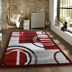 Area-rug-Newprt-52-Modern-burgundy-gray-soft-pile-size-option-2x3-4x5-5x7-8x11