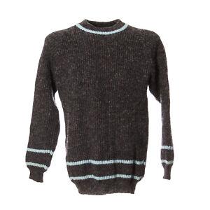 Herren-Vintage-Strickpullover-Sweater-Groesse-M-Pullover-Retro-Streifen