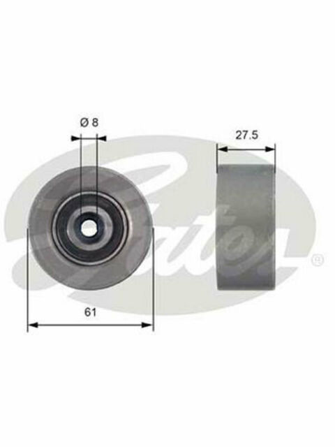 Gates Idler Pulley FOR OPEL ASTRA GTC (T42151)