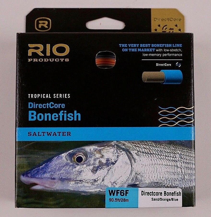 Rio Bonefish DirectCore Fly Line WF6F Free Fast Shipping 621955