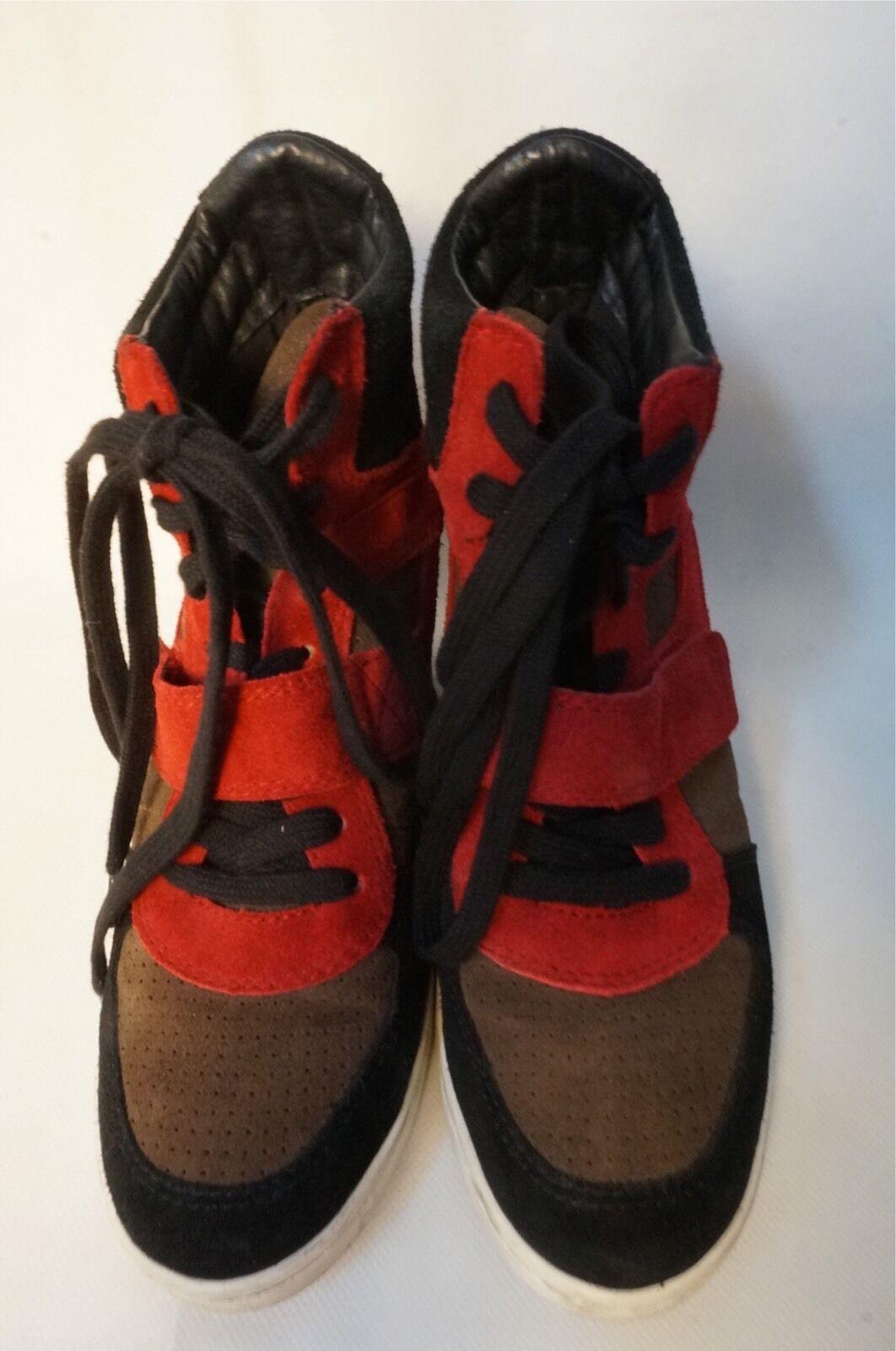 ASH Damen Schuhe Damen Sneakers Sneaker Wedges   Limitert   Größe : 41