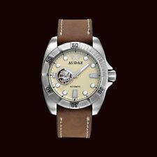 Audaz Gallant Automatic Japanese Movement Watch - Gun Metal Silver 100m Diving