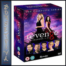 REVENGE - COMPLETE SERIES - SEASONS 1 2 3 & 4 **BRAND NEW DVD BOXSET*