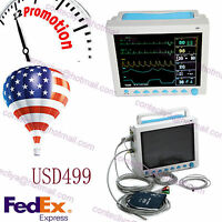 Fda Ce,contec 3 Years Warranty Icu Patient Monitor 6 Parameters,12.1'' Color,usa