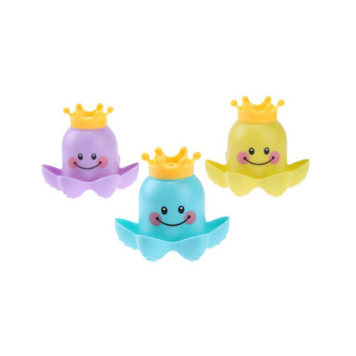 Lovely Gift Multi-color Educational Octopus Shape Stacked Cup Bathtub Bath Toy