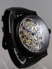 CREATION Montre coussin squelette type Unitas 6497 skeleton watch Uhr Skelettuhr