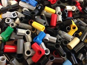 Great Mix Robot Technic Legos Lot Of 50 Random Lego Connectors //Elbows
