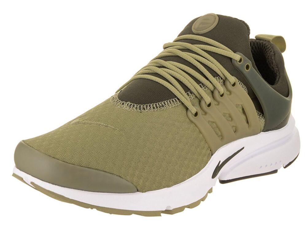 Nike Homme Chaussure Air Presto Essential Running Chaussure Homme Olive/Cargo/Khaki 848187-201 Chaussures de sport pour hommes et femmes 84b9a3