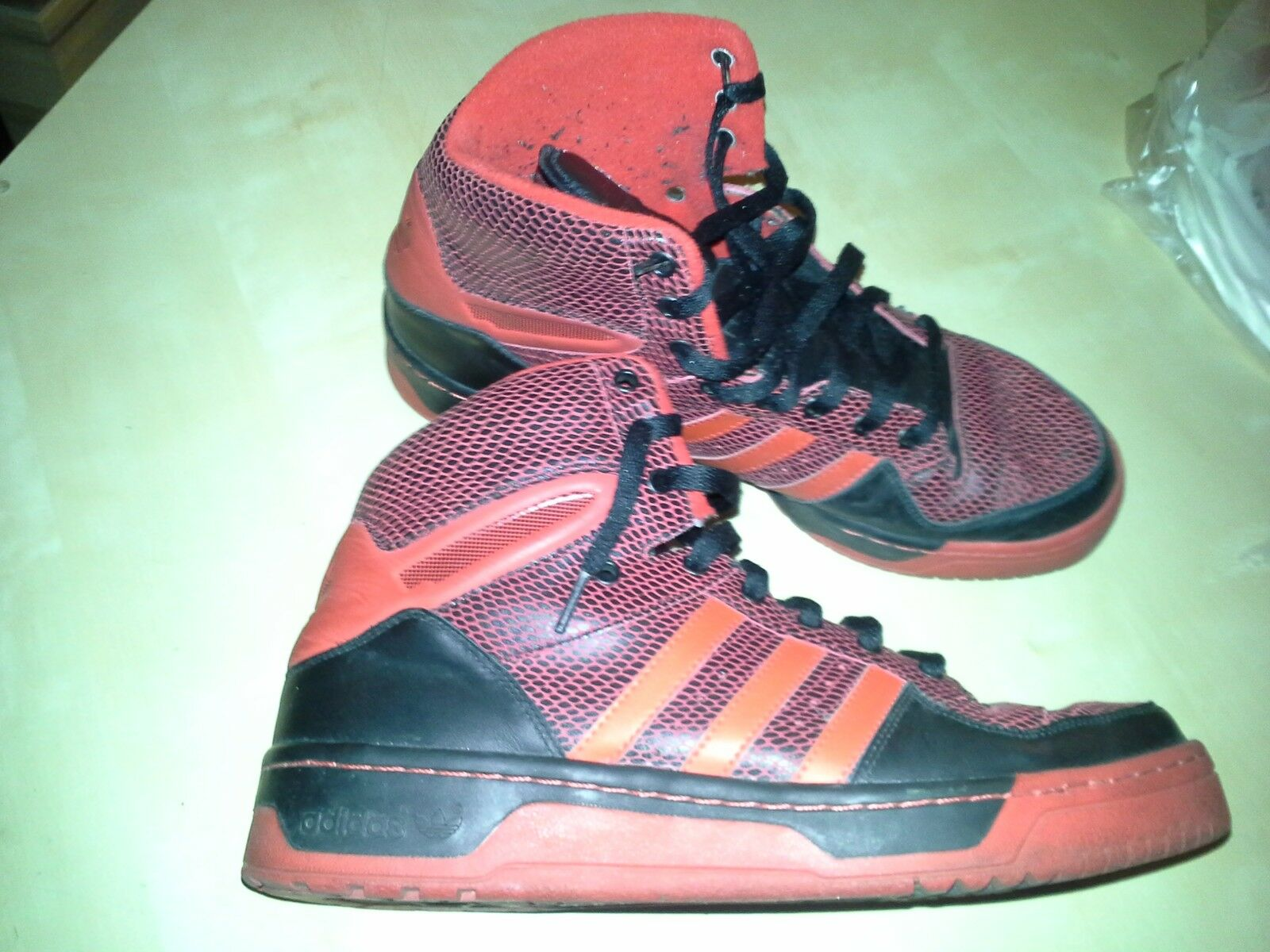 ADIDAS METRO ATTITUDE Limited Gr.44 Edition Rivalry High☆NBA Ewing Gr.44 Limited 2/3 3a8877