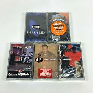 Lot-5-Cassette-Tapes-ATLANTA-Georgia-South-G-Rap-90-039-s-Early-2000-Hip-Hop-SEALED