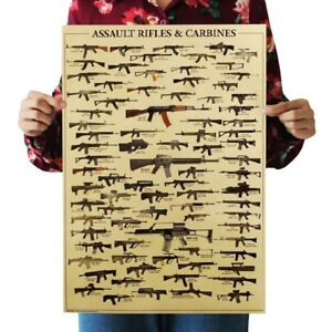 Image Is Loading US Seller Assault Rifles And Carbines Kraft Paper