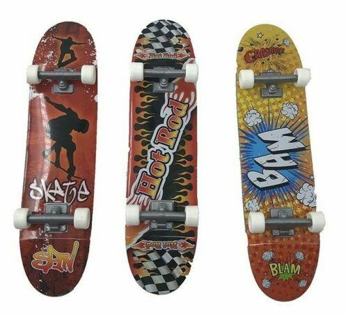 """LOT DE 3 handboard hand board 27 cm 11/"""" skate neuve sous blister RARE !!"""