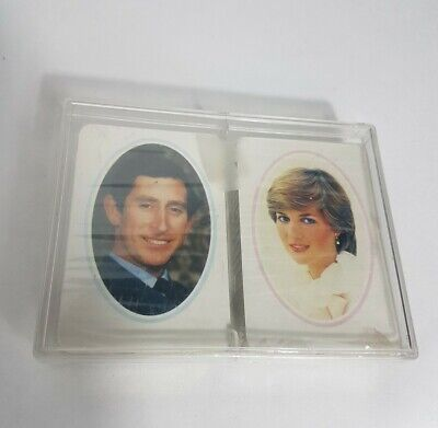 Vintage Sealed Waddingtons 1981 Royal Wedding Prince Charles And Lady Diana Spencer Playing Cards With Box Royalty Memorabilia UK