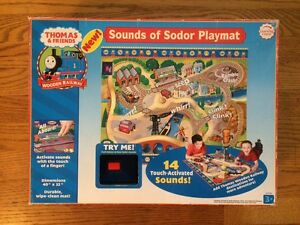 Sounds Of Sodor Playmat For The Thomas Amp Friends Wooden