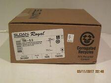 Sloan ROYAL 186-0.5 Royal Exposed, Hardwire Sensor Operated Flush Valve, NISB