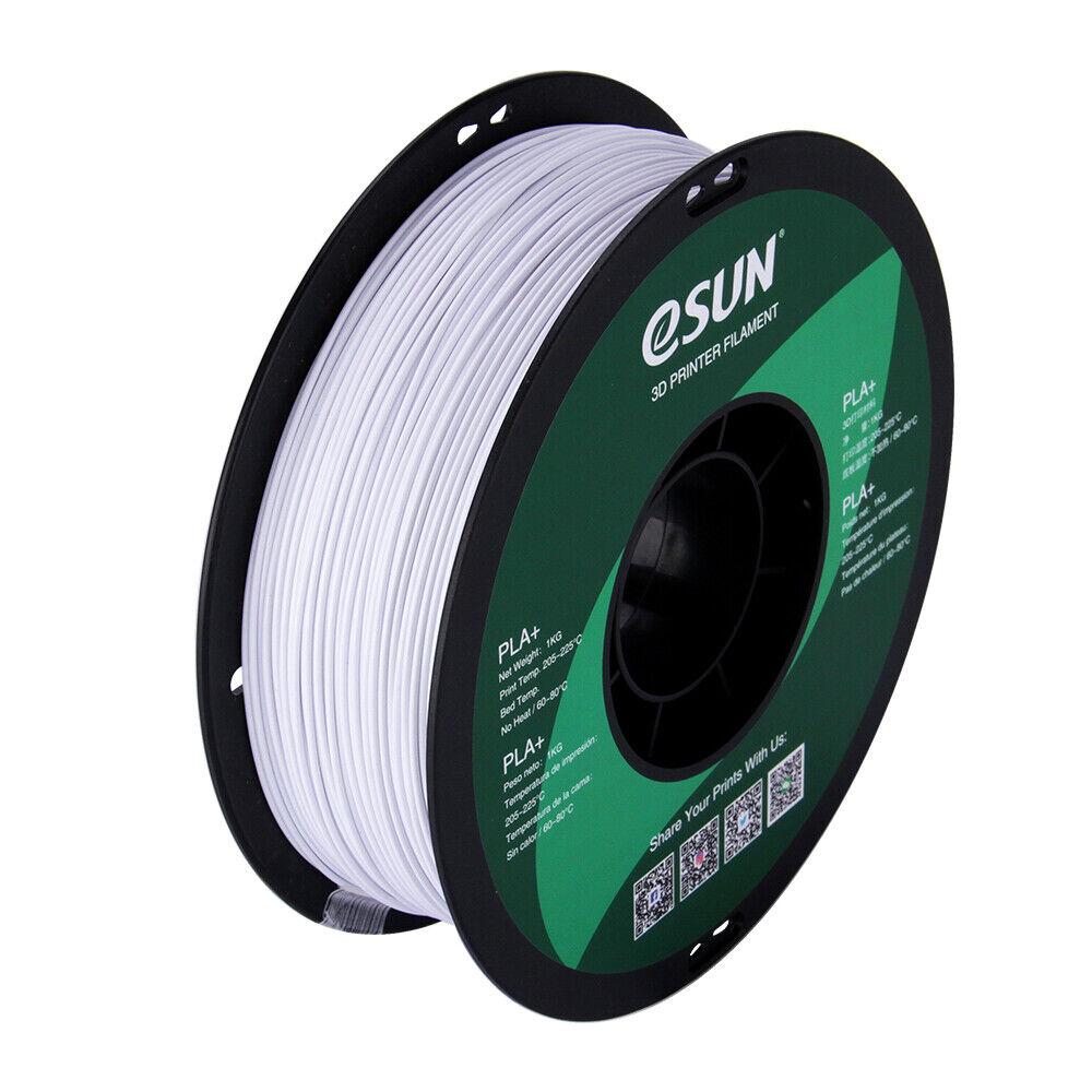 ESUN Filament | PLA + Cold White (1.75mm/1kg)